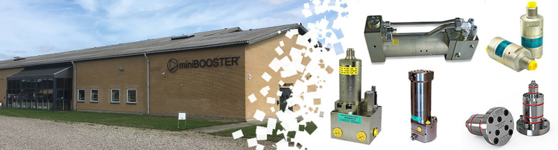 miniBooster moltiplicatori alta pressione
