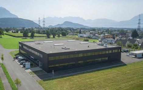 Nuovo edificio STARK a Rankweil, Austria