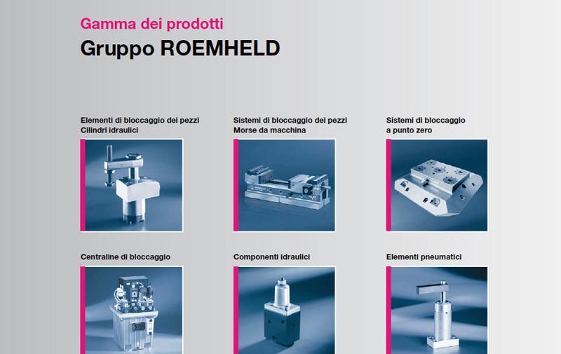 Gruppo 0 - Programma generale e indice componenti ROEMHELD - Camar S.p.A.