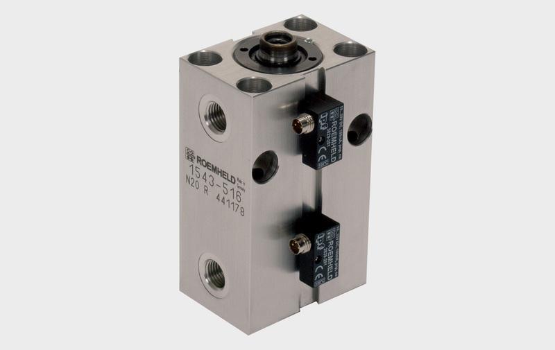 Gruppo B 1.554 - Cilindro a basetta in alluminio e in bronzo ROEMHELD – Camar S.p.A