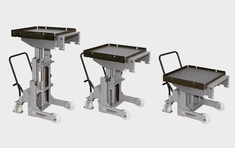 Gruppo WZ88901 - Carrelli per cambio stampi RW - 1000 kg - Camar S.p.A.
