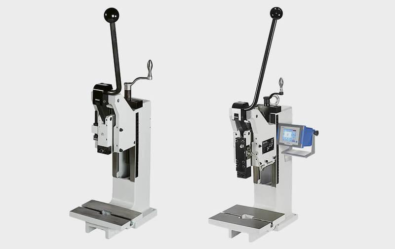 Gruppo HKPV - Pressette manuali a ginocchiera GECHTER Tipo HKPV, presse manuali a ginocchiera - Camar S.p.A.