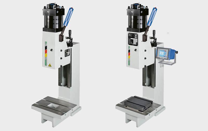 Gruppo HKP/L-DS - Pressette assistite pneumaticamente Tipo HKP/L-DS, presse manuali GECHTER - Camar S.p.A.