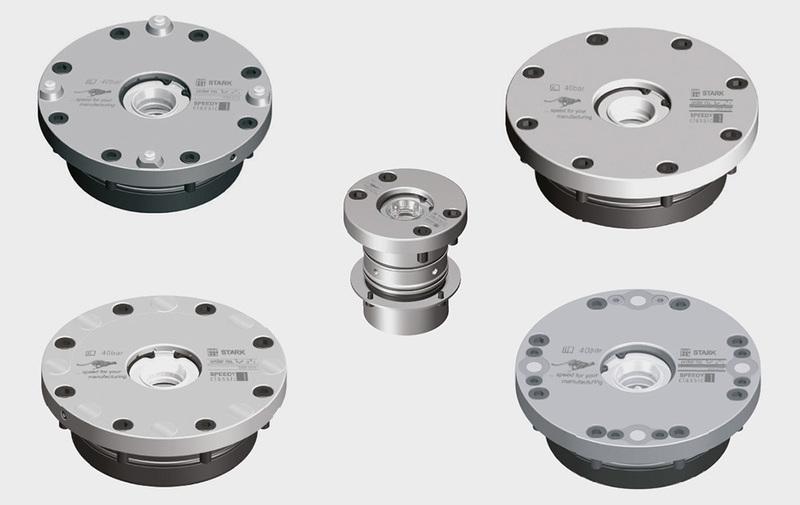 Gruppo 1 - Speedy Classic 1 STARK, sistema di bloccaggio a molle e sbloccaggio idraulico - Camar S.p.A.