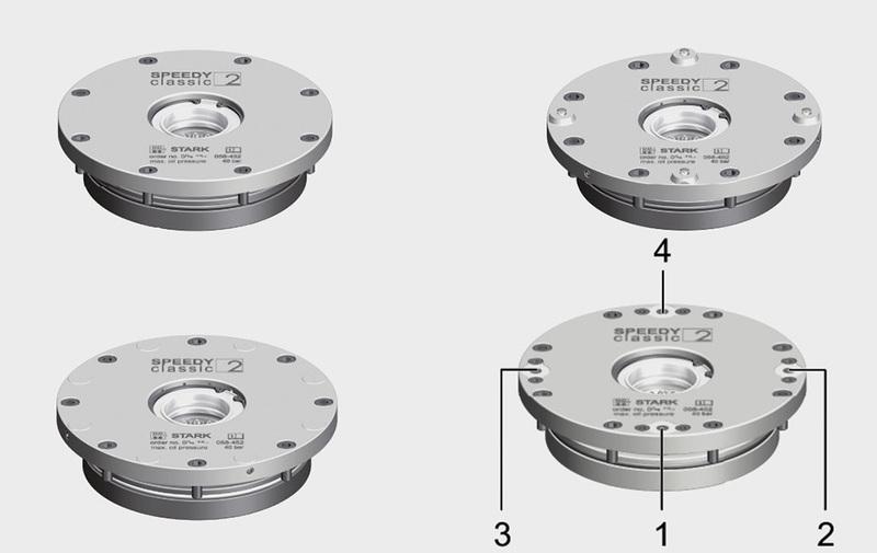 Gruppo 2 - Speedy Classic 2 STARK, sistemi di bloccaggio - Camar S.p.A.