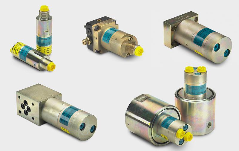 Gruppo HCxx - Moltiplicatori olio-olio miniBOOSTER, moltiplicatori di pressione - Camar S.p.A.