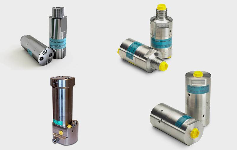 Gruppo HCxW - Moltiplicatori in acciaio inox per singolo fluido - Camar S.p.A.