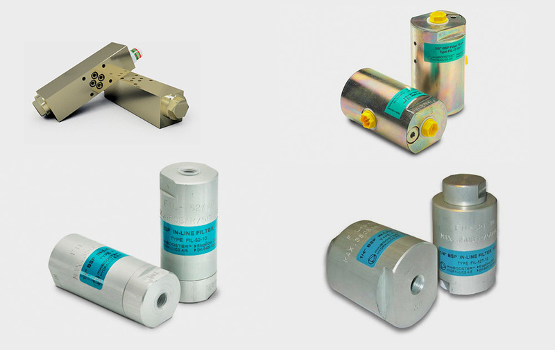 Gruppo FIL - Filtri miniBOOSTER, filtri in linea e per alta pressione - Camar S.p.A.