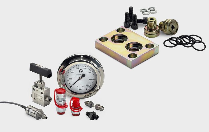 Gruppo Accessori - Accessori moltiplicatori di pressione miniBOOSTER - Camar S.p.A.