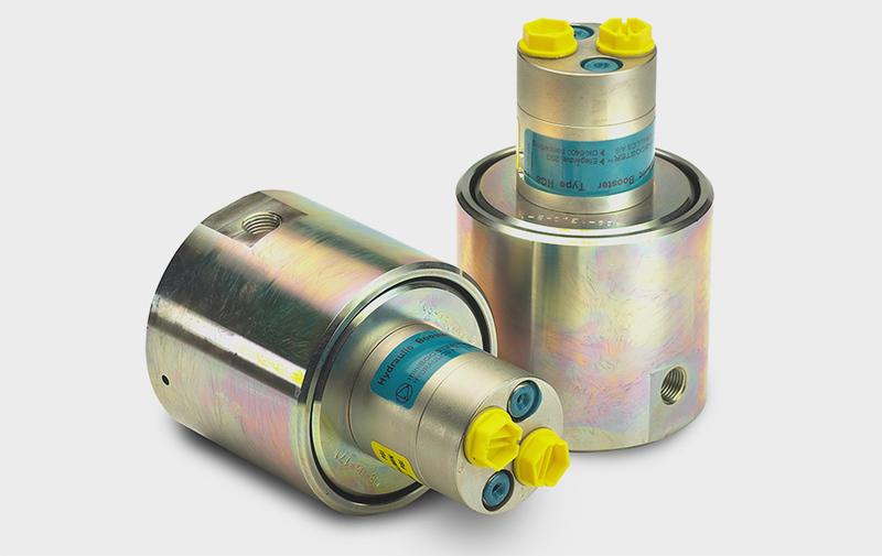Gruppo HC8 - Moltiplicatore olio-olio HC8 - Pressioni fino a 2000 bar - Camar S.p.A.