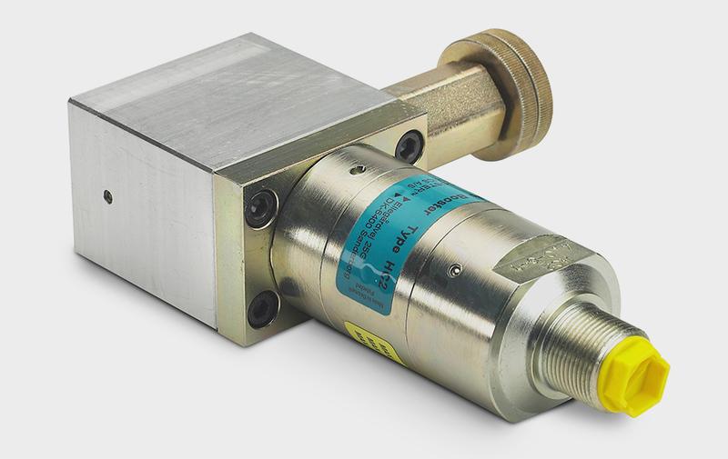 Gruppo CV2 - Corpo valvola con HC2 - riduttrice - strozzatori - Camar S.p.A.