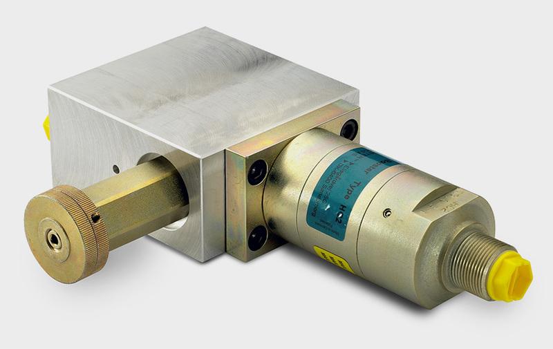 Gruppo CV4 - Corpo valvola con HC2, filtro, valvola a cartuccia e strozzatori - Camar S.p.A.
