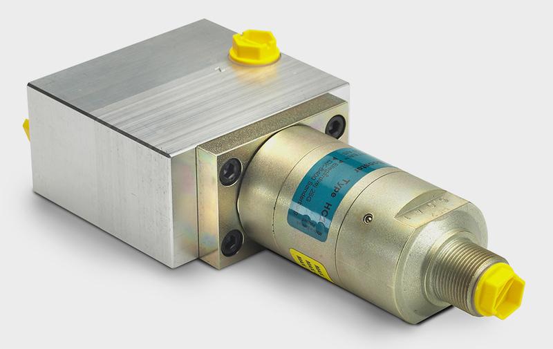 Gruppo CV6 - Corpo valvola con HC2, filtro e strozzatori - Camar S.p.A.