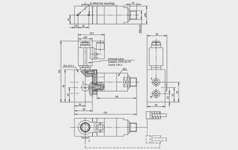Gruppo VAE - Valvole direzionali ad azionamento elettrico - Camar S.p.A.