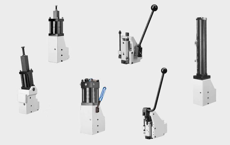 Gruppo  - Unità di pressatura GECHTER, unità manuali, pneumatiche e pneumo-idrauliche - Camar S.p.A.