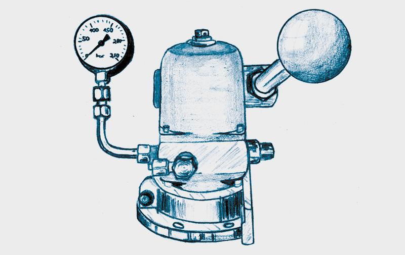 Gruppo D - Pompe idrauliche manuali ROEMHELD - Pompa manuale, sistemi di bloccaggio – Camar S.p.A.