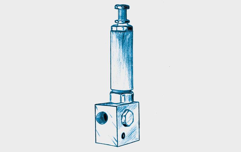 Gruppo C - Valvole riduttrici di pressione ROEMHELD - Sistemi di bloccaggio – Camar S.p.A.