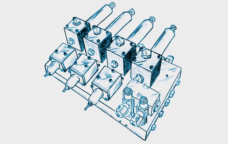 Gruppo C - Combinazioni di valvole ROEMHELD - Sistemi di bloccaggio – Camar S.p.A.