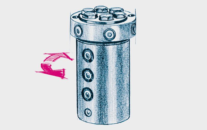 Gruppo F - Giunti e distributori rotanti oleodinamici ROEMHELD - Sistemi di bloccaggio – Camar S.p.A.