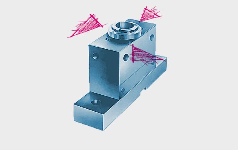 Gruppo H - Bloccaggio centrato esterno - albero ROEMHELD - Sistemi di bloccaggio – Camar S.p.A.