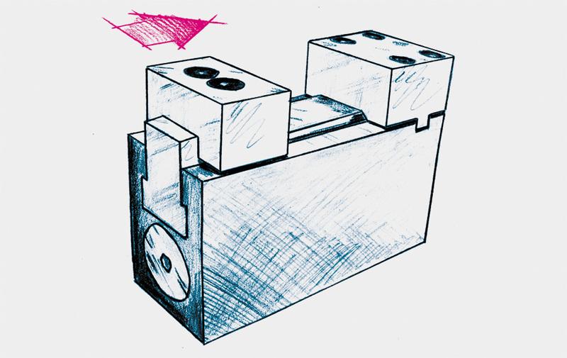 Gruppo I - Morsa di bloccaggio a ganascia fissa ROEMHELD - Sistemi di bloccaggio – Camar S.p.A.