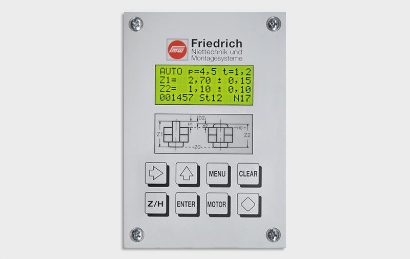 Gruppo  - Comandi con controllo di processo FMW Friedrich, controllori di processo - Camar S.p.A.