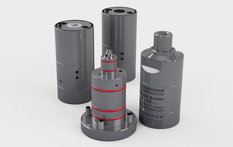 Gruppo HCxx-9 - Moltiplicatori olio-olio a cartuccia miniBOOSTER, volantino - Camar S.p.A.