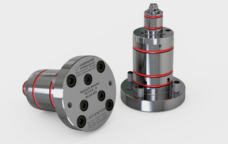 Gruppo HC1-9 - Moltiplicatore olio-olio HC1-9 a cartuccia - Fino a 8 l/min - Camar S.p.A.