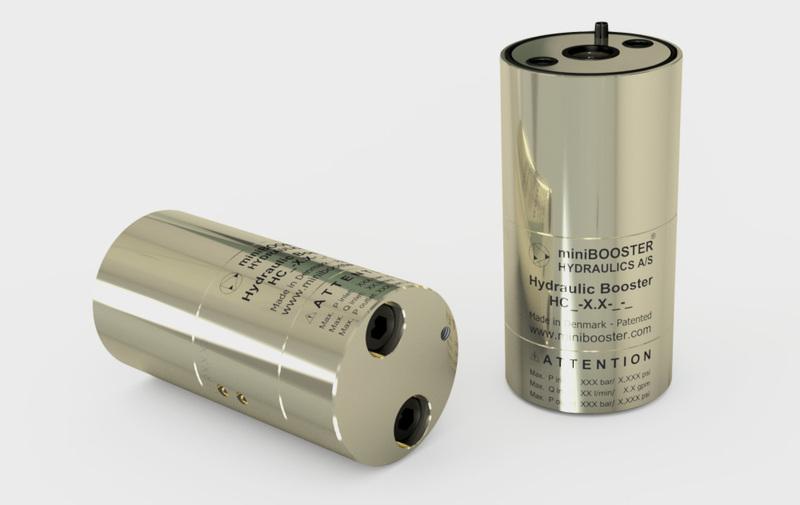 Gruppo HC3-9 - Moltiplicatore olio-olio HC3-9 a cartuccia - Fino a 8 l/min - Camar S.p.A.