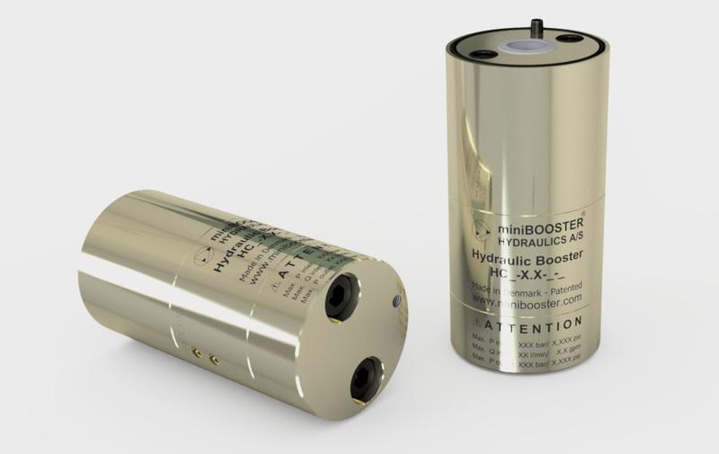 Gruppo HC7-9 - Moltiplicatore olio-olio HC7-9 a cartuccia - Fino a 8 l/min - Camar S.p.A.