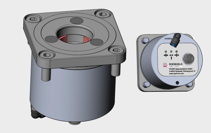 Gruppo 8 - Speedy Airtec EC STARK, sistemi di bloccaggio - Camar S.p.A.