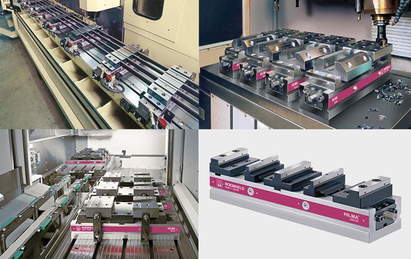 Gruppo 03 - Morse doppie HILMA, sistemi di bloccaggio - Camar S.p.A.