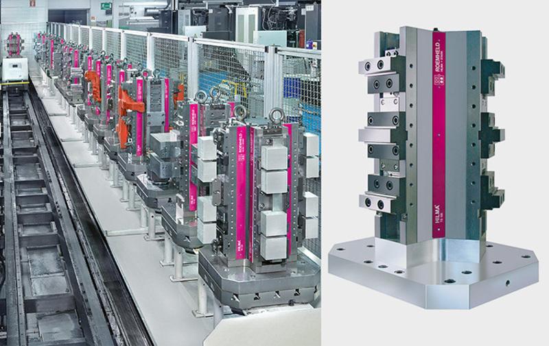 Gruppo 04 - Torrette e cubi HILMA, sistemi di bloccaggio - Camar S.p.A.
