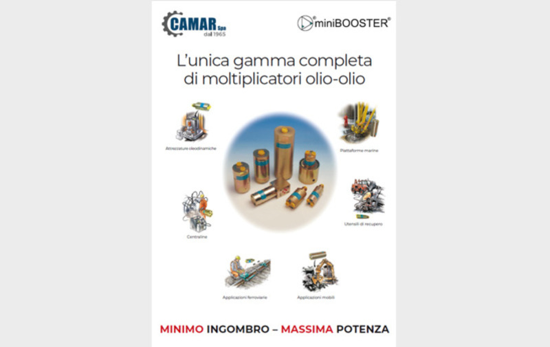 Gruppo  - Programma generale miniBOOSTER - Camar S.p.A.
