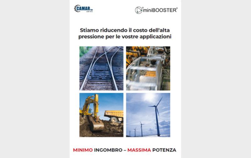 Gruppo  - Volantino informativo prodotti miniBOOSTER, volantino - Camar S.p.A.