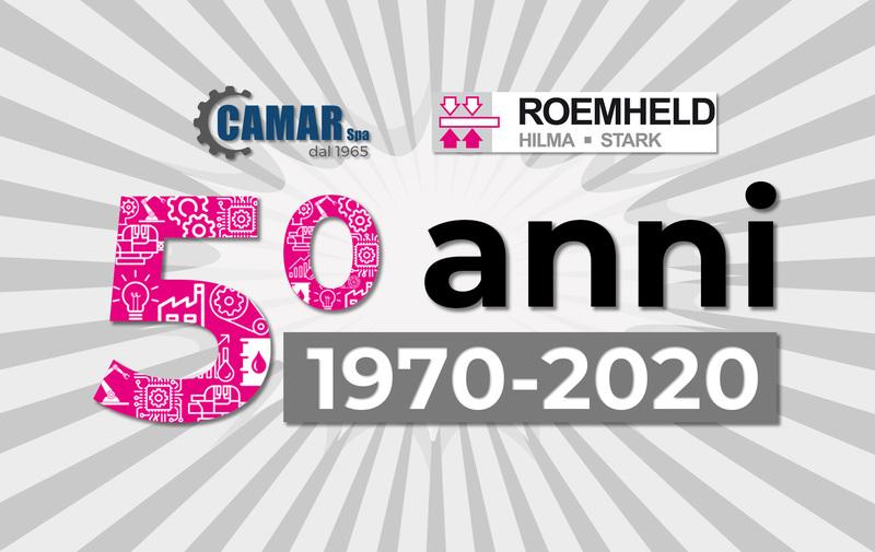 50 anni di collaborazione Gruppo Roemheld e CAMAR