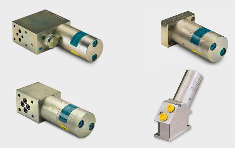 Gruppo HCxx - Moltiplicatori olio-olio con montaggio a flangia miniBOOSTER, moltiplicatori di pressione - Camar S.p.A.