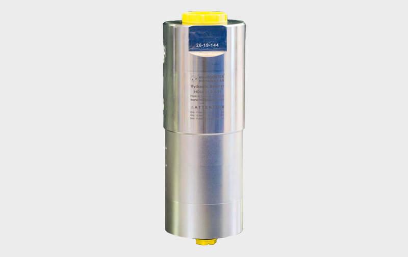 Gruppo HC6H - Moltiplicatore olio-olio HC6H - Fino a 5.000 bar - Camar S.p.A.