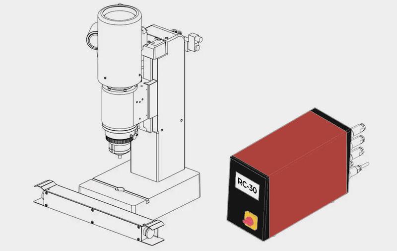 Gruppo  - Ribaditrici radiali standard BALTEC RC-30 (RN181R - Edizione 12-2019) – Camar S.p.A.