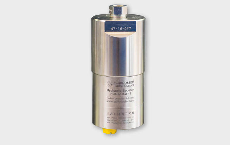 Gruppo HC4H - Moltiplicatore olio-olio HC4H fino a 3000 bar Camar S.p.A.