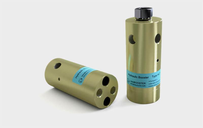 Gruppo HC7 - Moltiplicatore olio-olio HC7 - Pressioni fino a 2000 bar - Camar S.p.A.