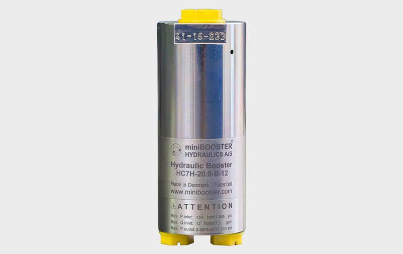 Gruppo HC7H - Moltiplicatore olio-olio HC7H - Pressioni fino a 2600 bar - Camar S.p.A.