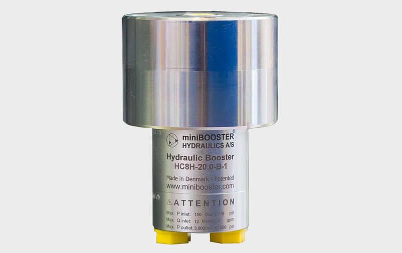 Gruppo HC8H - Moltiplicatore olio-olio HC8H - Pressioni fino a 3000 bar - Camar S.p.A.