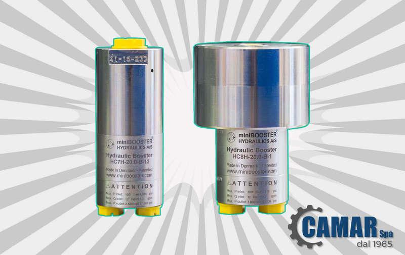 Moltiplicatori ad altissima pressione HC4H, HC7H e HC8H