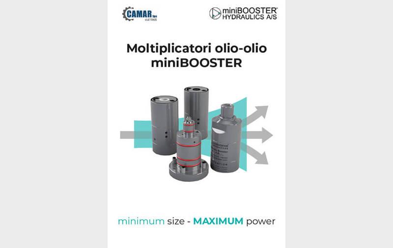 Gruppo CATALOGO - Catalogo compatto miniBOOSTER - Camar S.p.A.