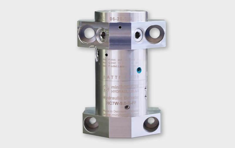 Gruppo HC7W-FF - Moltiplicatore inox HC7W-FF - Fino a 2000 bar - Camar S.p.A.