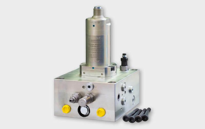 Gruppo M-HC-029 - Sistema di moltiplicazione M-HC-029 (fino a 500 bar e 40 l/min) - Camar S.p.A.