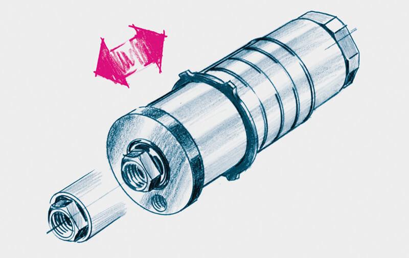 Gruppo B - Cilindri di serraggio universale ROEMHELD - Sistemi di bloccaggio – Camar S.p.A.