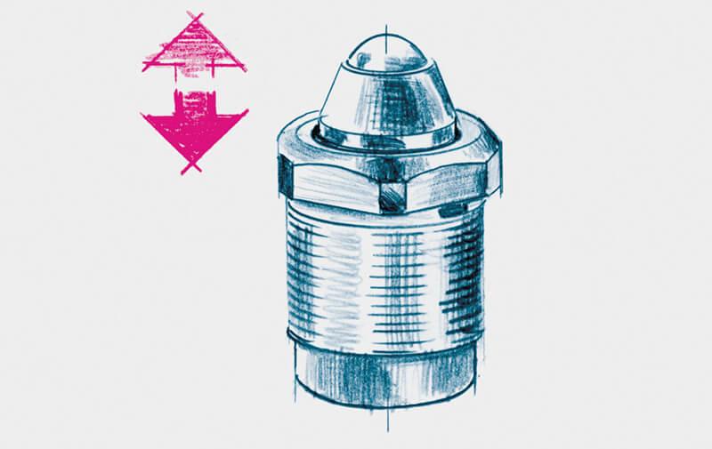 Gruppo B - Cilindri con corpo filettato ROEMHELD - Cilindri idraulici filettati – Camar S.p.A.