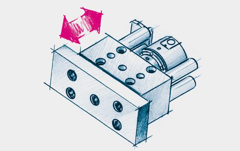 Gruppo B - Spintori idraulici ROEMHELD - Sistemi di bloccaggio – Camar S.p.A.